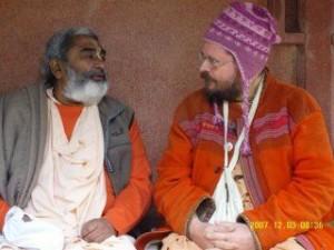 Sadhu Maharaja and Paramadvaiti Maharaja