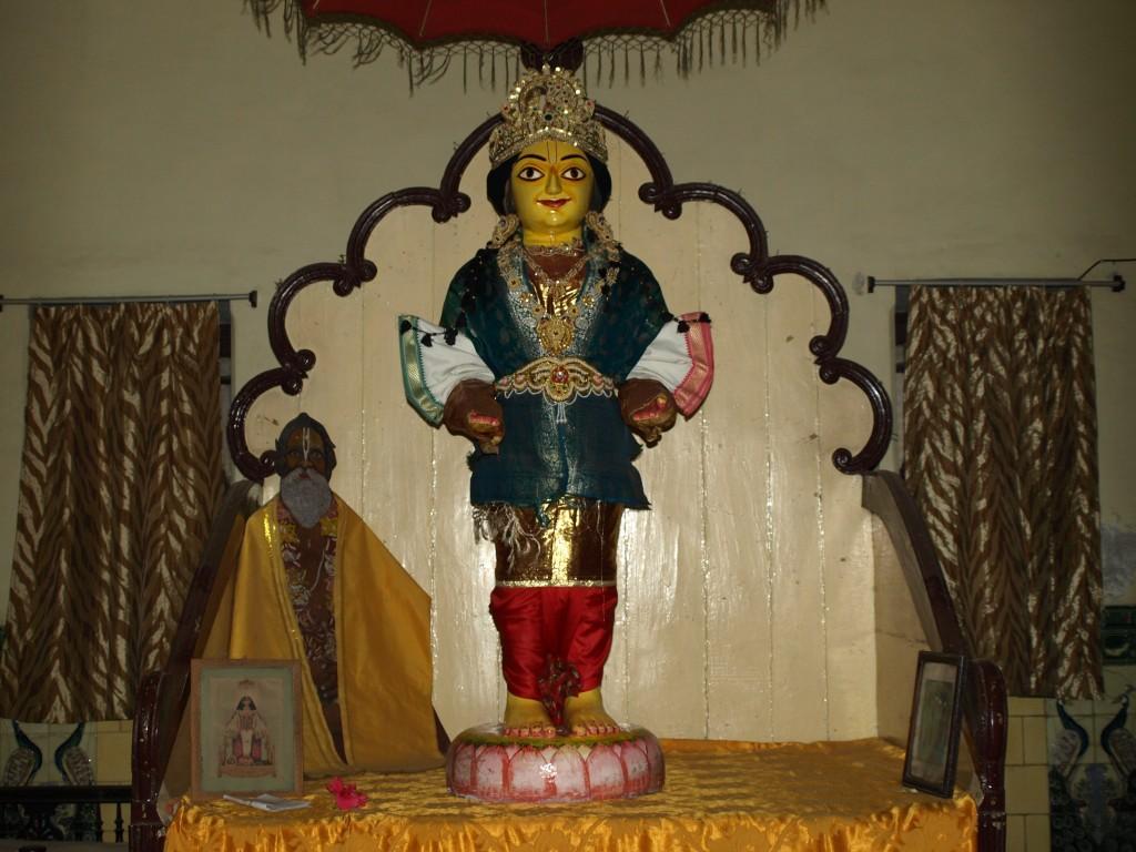 Deity of Shri Chaitanya Mahaprabhu at Prem Mandir Munger
