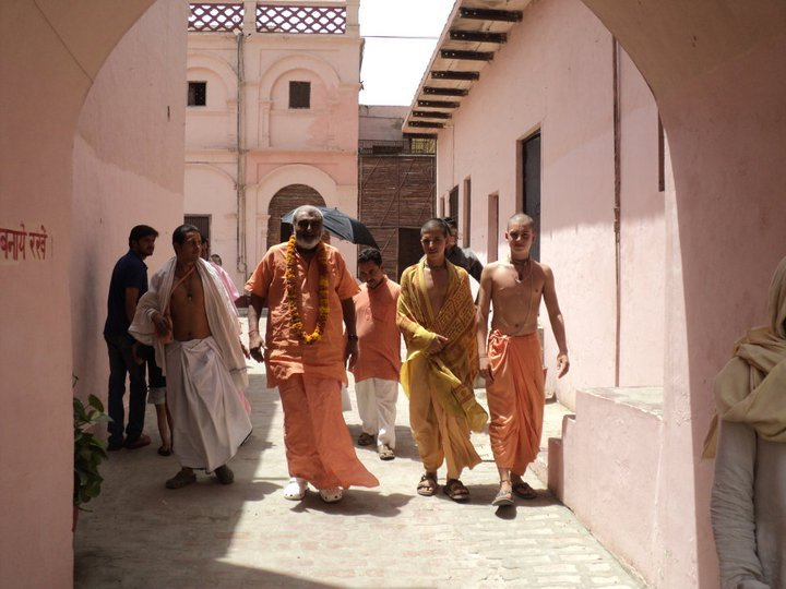 Sadhu Maharaja at Munger Raj Mandir on May 10
