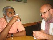 Tarun Govinda and Sadhu Maharaja