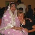 Mataji and Govinda Priya